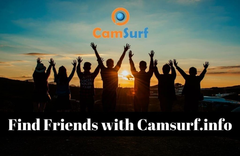 Find Friends with Camsurf.info